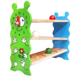 Đồ chơi gỗ Banh lăn zíz zắc hình sâu Winwintoys 67092