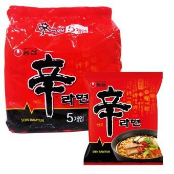 [Deal Giá Tốt] 5 gói mì cay Shin Hàn Quốc