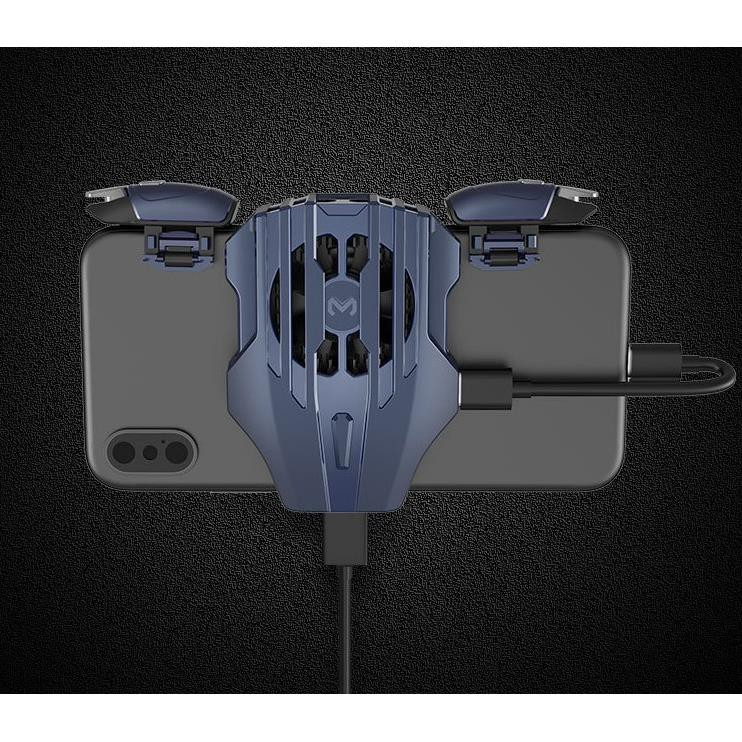 Quạt Tản Nhiệt điện thoại MEMO DL02 - Bản nâng cấp cổng sạc TYPE C + Lightning cho điện thoại