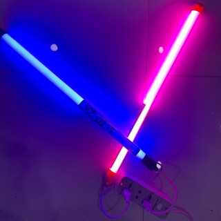 Combo đèn sống ảo quay tiktok 0,6M ( xanh hồng ) cắm điện trực tiếp không cần máng