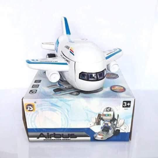 Máy bay biến hình siêu nhân, rô bốt cho bé