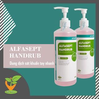 Dung dịch rửa tay khô ALFASEPT HANDRUB 500ml - sát khuẩn tay thumbnail