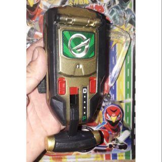Một cái điện thoại Siêu nhân Gao có nhạc và đèn Led rất đẹp có kèm pin thumbnail