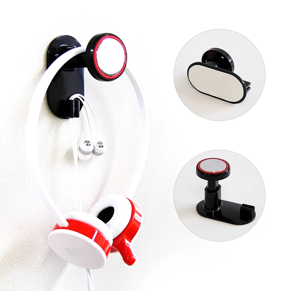 Useful 1Pc Universal Earphone Headset Hanger Wall Holder Headphone Stand Rack