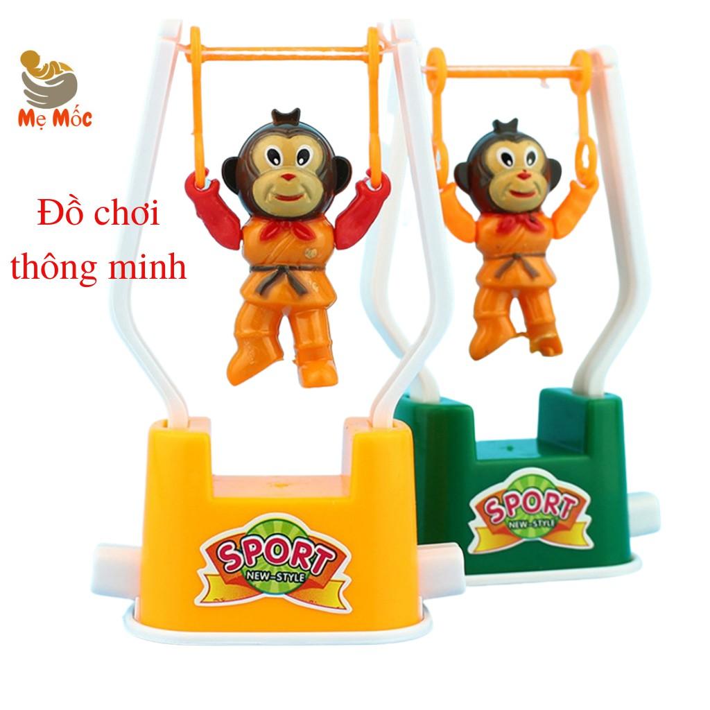 Đồ chơi hình con khỉ Wind Up Mokey hoạt hình khỉ biết nhảy bằng dây cót, khỉ  đu dây giúp con giải trí thông minh chính hãng 23,000đ