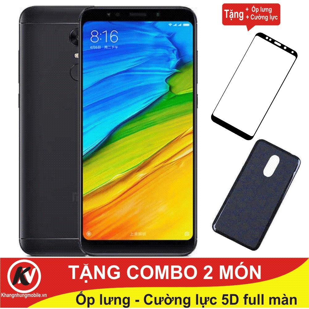 Combo Điện thoại Xiaomi Redmi 5 Plus 64GB Ram 4GB - Hàng nhập khẩu + Ốp lưng silicon + Cường lực 5D - 3376384 , 831044611 , 322_831044611 , 5600000 , Combo-Dien-thoai-Xiaomi-Redmi-5-Plus-64GB-Ram-4GB-Hang-nhap-khau-Op-lung-silicon-Cuong-luc-5D-322_831044611 , shopee.vn , Combo Điện thoại Xiaomi Redmi 5 Plus 64GB Ram 4GB - Hàng nhập khẩu + Ốp lưng sil