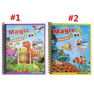 Sách tô màu thần kì tái sử dụng nhiều lần cho trẻ