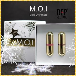 [Mã COSHOT03 giảm 10% đơn 350K] Son Thỏi Mini - Set 2 Thỏi Love M.O.I Hồ Ngọc Hà - Golden Gift thumbnail