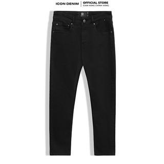 Quần Jean Nam ICON DENIM Dáng Slim-fit In Black