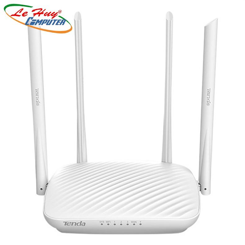 [Mã 267ELSALE hoàn 7% đơn 300K] Bộ Phát Sóng Wifi Tenda F9 Chuẩn N 600Mbps