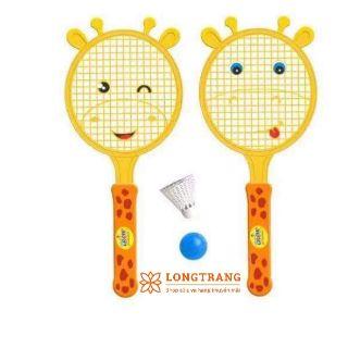 Bộ vợt cầu lông năng động cho bé