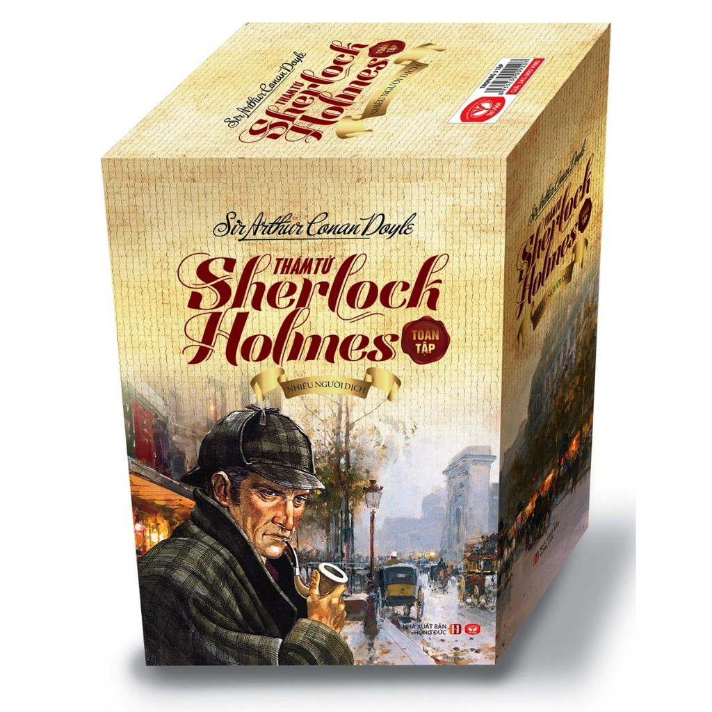 [Mã LIFEB1510 giảm 10% đơn 99K] Sách - Thám Tử Sherlock Holmes Toàn Tập Đặc Biệt (3 Tập)