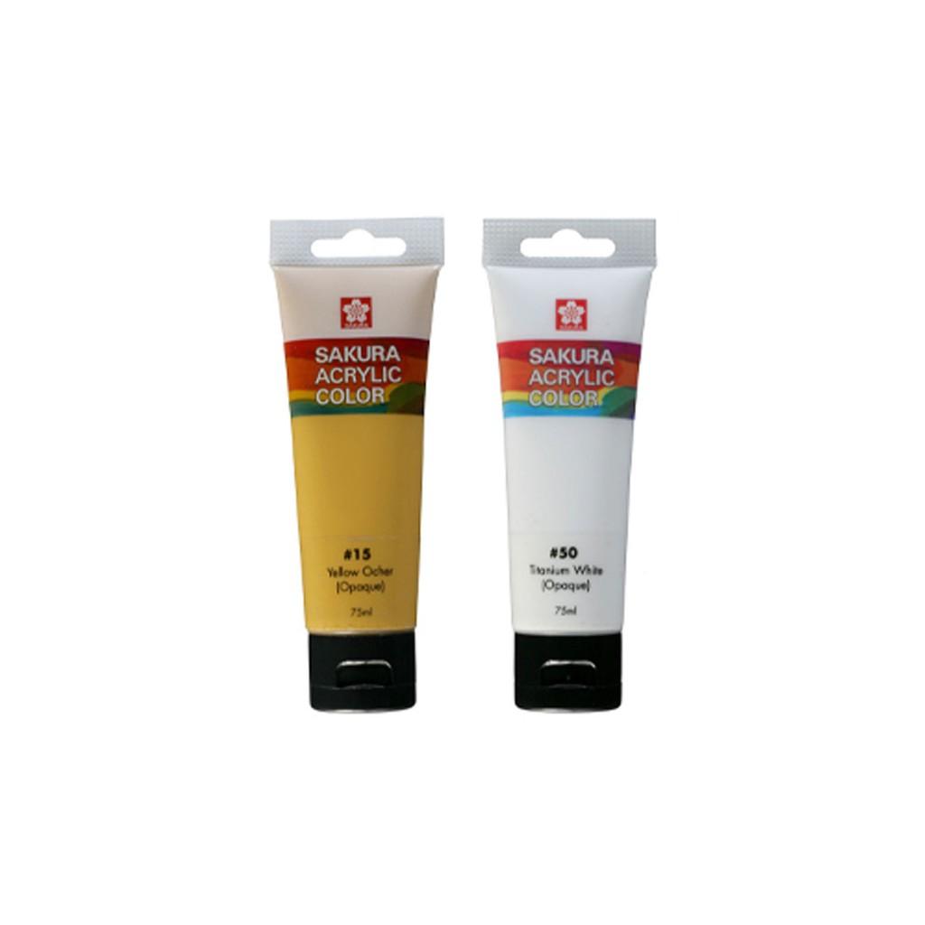 (P3)Màu Acrylic SAKURA - SAKURA Acrylic 75ml