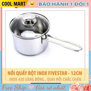 Nồi Quấy Bột ⭐️FREESHIP⭐️ Xoong Nấu Bột Inox Fivestar An Toàn Cho Bé