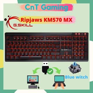 Bàn phím cơ Gskill Ripjaws KM570 MX Blue Switch- Đã Qua Sử Dụng thumbnail