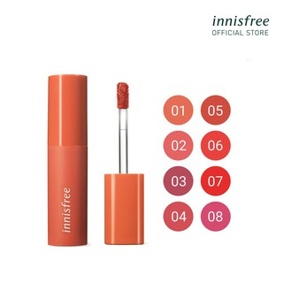 Son kem lì lâu trôi innisfree Vivid Cotton Ink Blur 4g