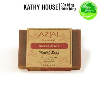 Xà phòng thảo mộc AZIAL Cassia Alata Herbal Soap, xà bông tắm 100% thiên nhiên phù hợp mọi loại da thumbnail