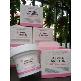 Kem Kích Trắng Da Alpha Arbutin Collagen Cream 3+ Plus Deep White Essence thumbnail
