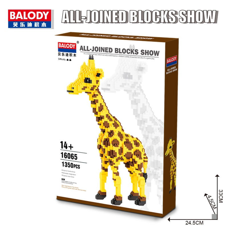 MB263 Animal DIY Diamond Mini Micro Building Nano Blocks Bricks Toys