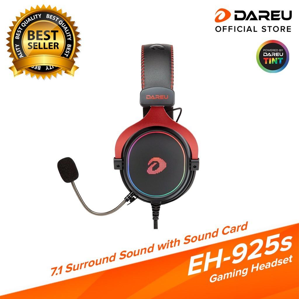 Tai nghe DareU EH925s/EH925 Black Red BH chính hãng Mai Hoàng