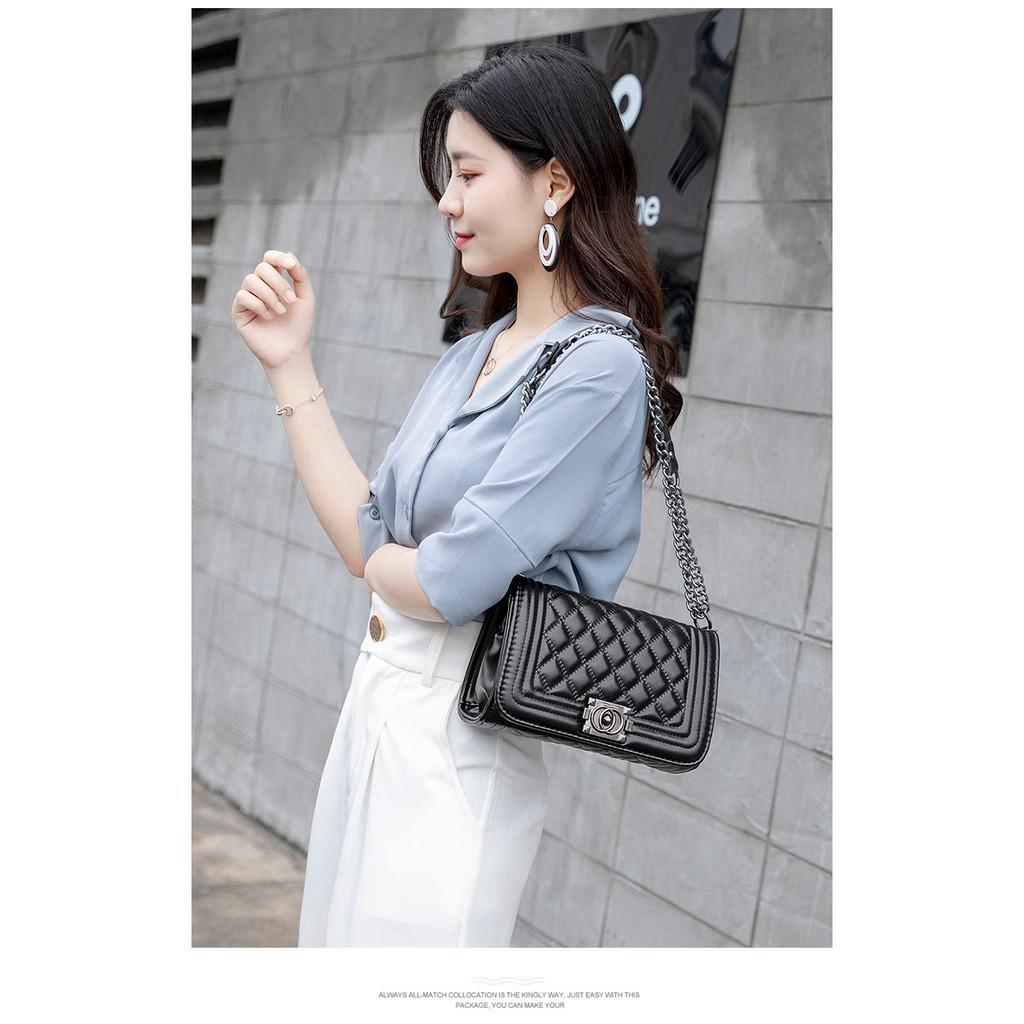 Túi xách nữ đeo chéo CL Boy Super da mềm thời trang cực sang chảnh hàng loại 1 TX05 túi đeo chéo