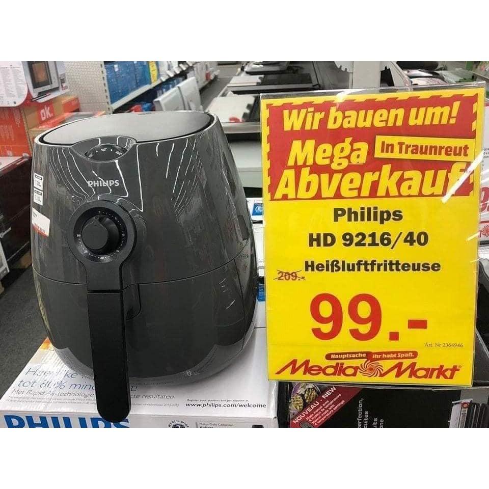 Nồi chiên không dầu Philips HD9216/40 phiên bản nội địa Đức