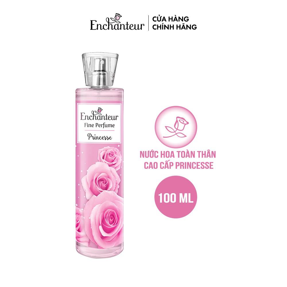 Nước hoa toàn thân cao cấp Enchanteur hương Princesse 100ml