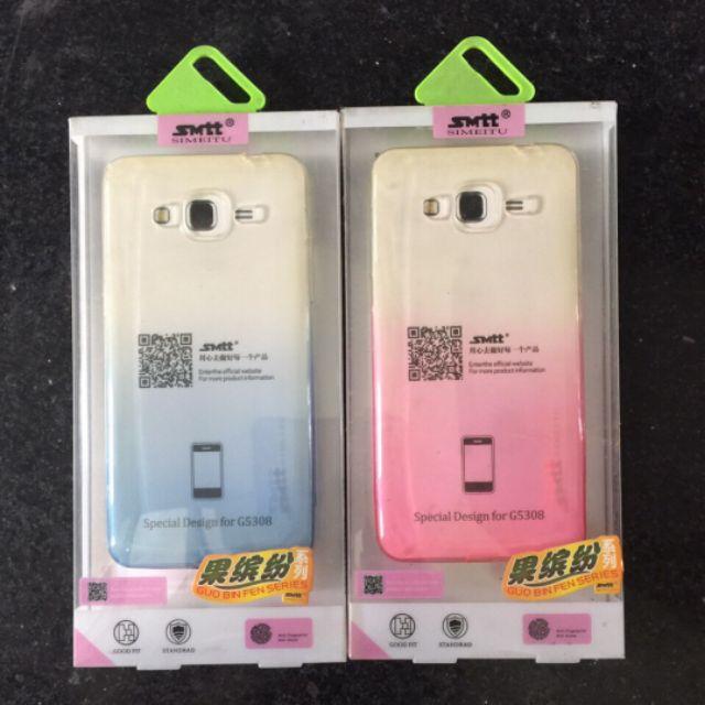 ốp lưng dẻo 2 màu Galaxy J2 Prime / G530 hiệu SMTT chính hãng