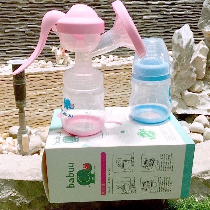 [Mã 157FMCGSALE giảm 8% đơn 500K] Máy hút sữa cầm tay Babuu TẶNG KÈM 6 TÚI TRỮ SỮA