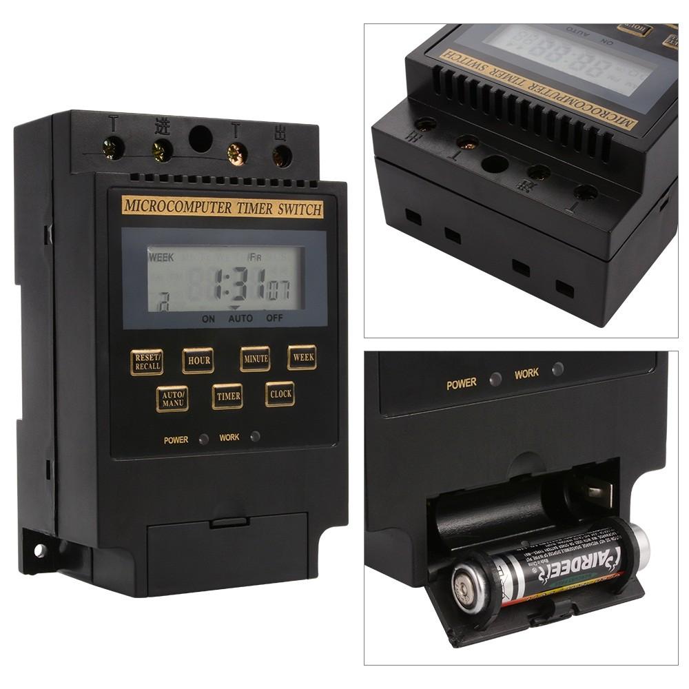 Bộ công tắc hẹn giờ tắt mở thiết bị tự động KG316T (Đen) - 3117726 , 1209651684 , 322_1209651684 , 179000 , Bo-cong-tac-hen-gio-tat-mo-thiet-bi-tu-dong-KG316T-Den-322_1209651684 , shopee.vn , Bộ công tắc hẹn giờ tắt mở thiết bị tự động KG316T (Đen)