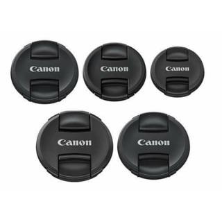 Nắp đậy ống kính Canon cáp trước lens Canon 49mm 52mm 55mm 58mm 62mm 67mm 72mm 77MM 82Mm thumbnail