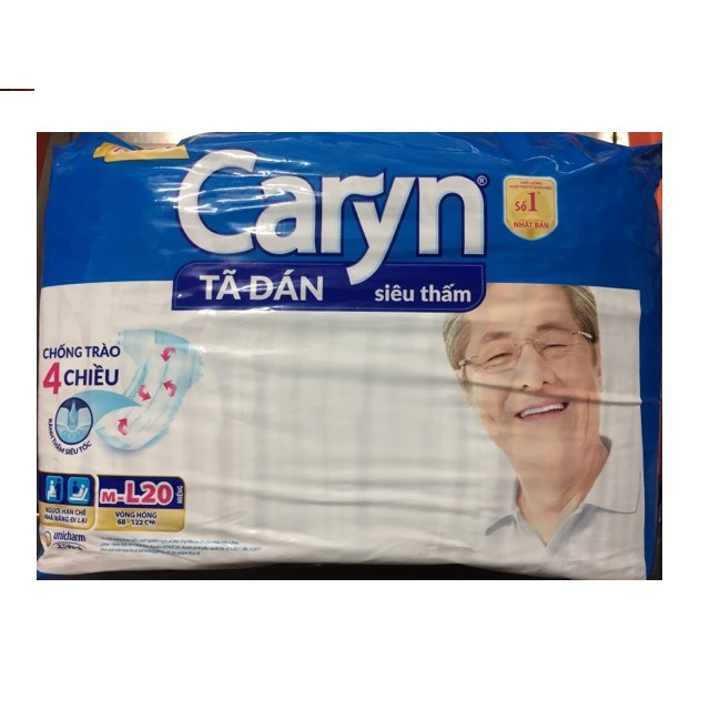 Tã dán người già Caryn M-L20 / bỉm người già