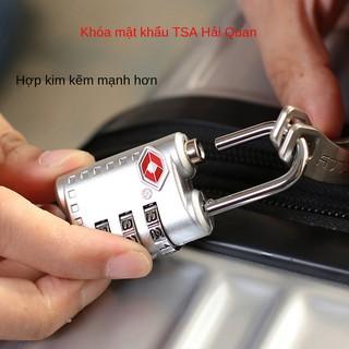 Du lịch nước ngoài đồ dùng du lịch ổ khóa Jiashijie TSA007 khóa mật khẩu khóa hành lý khóa hành lý khóa mật khẩu khóa thumbnail