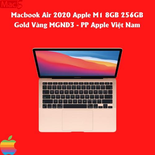 Macbook Air 2020 Apple M1 8GB 256GB - PP Apple Việt Nam