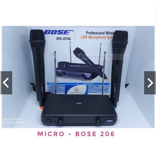 Micro không dây BOSE BS 206 - 3555591 , 1135054598 , 322_1135054598 , 450000 , Micro-khong-day-BOSE-BS-206-322_1135054598 , shopee.vn , Micro không dây BOSE BS 206