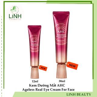 Kem Dưỡng Mắt AHC Ageless Real Eye Cream For Face 30ml,12ml thumbnail