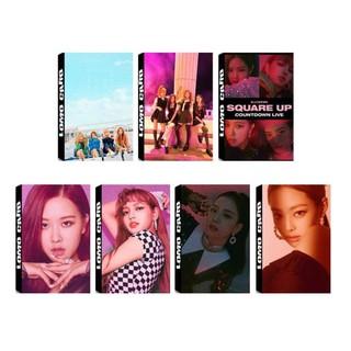 Lomo Card Black Pink