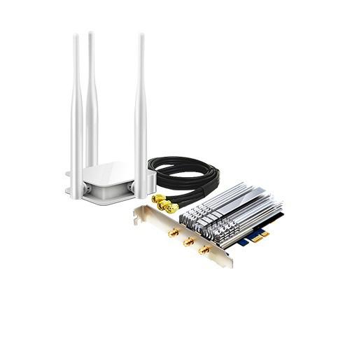 Card mạng Wi-Fi băng tần kép PCI-E AC1900 Totolink A1900PE