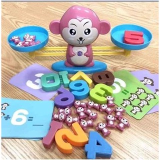 Bộ chơi toán học hình con khỉ