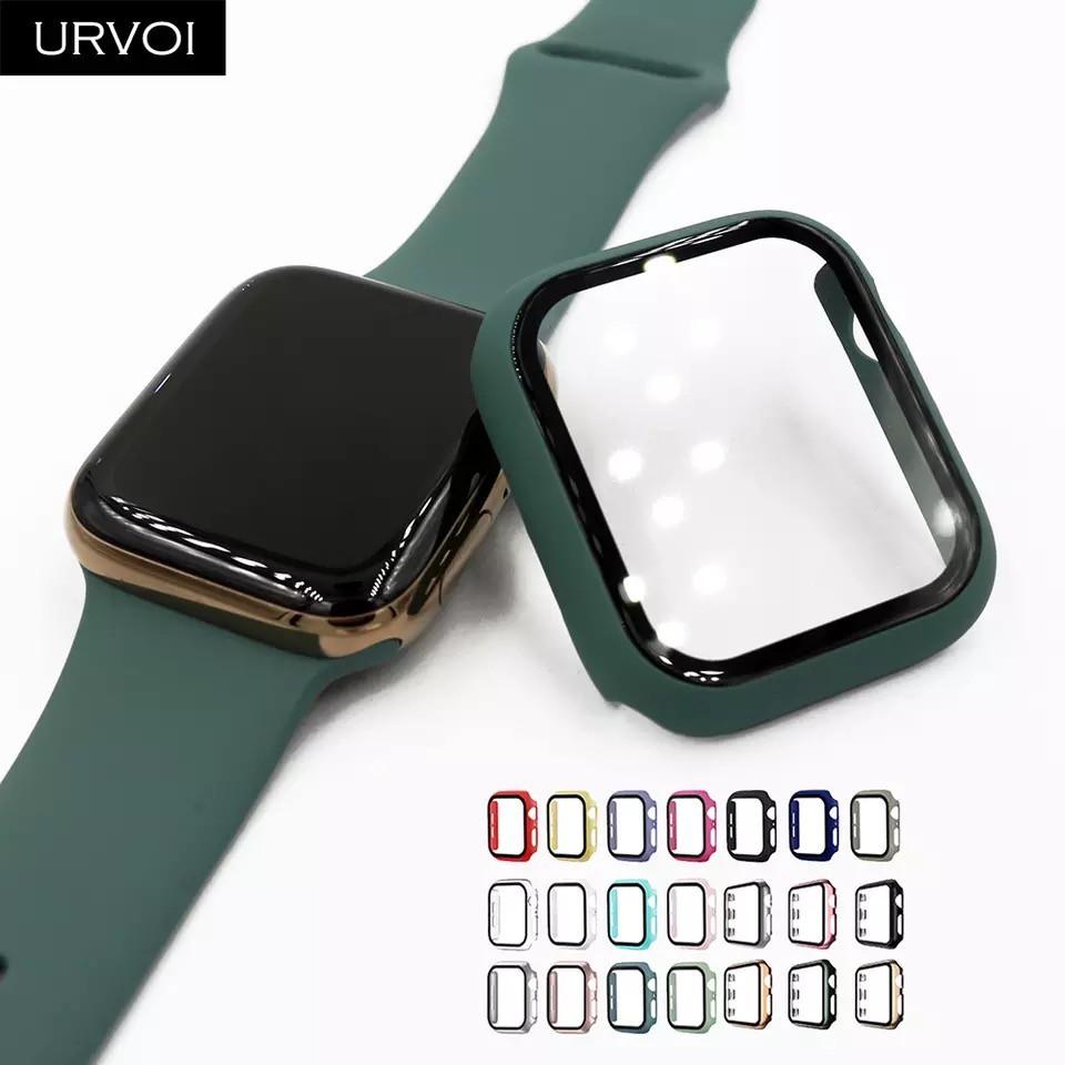 Ốp Cường Lực Full Màn Apple Watch 2 in 1 Bảo Vệ Màn hình và Body
