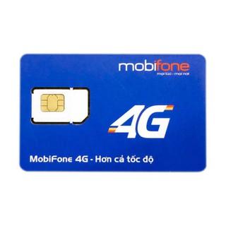 Sim 4G Mobifone trọn gói 1 năm 4Gb/tháng & trọn gói 6 tháng 3Gb/tháng