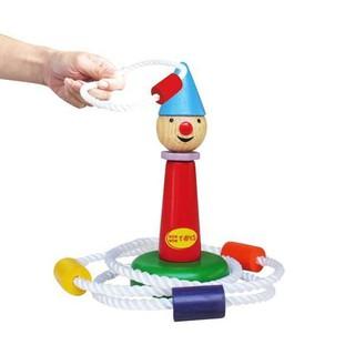 Đồ chơi gỗ – Thảy vòng chú hề Winwin Toys