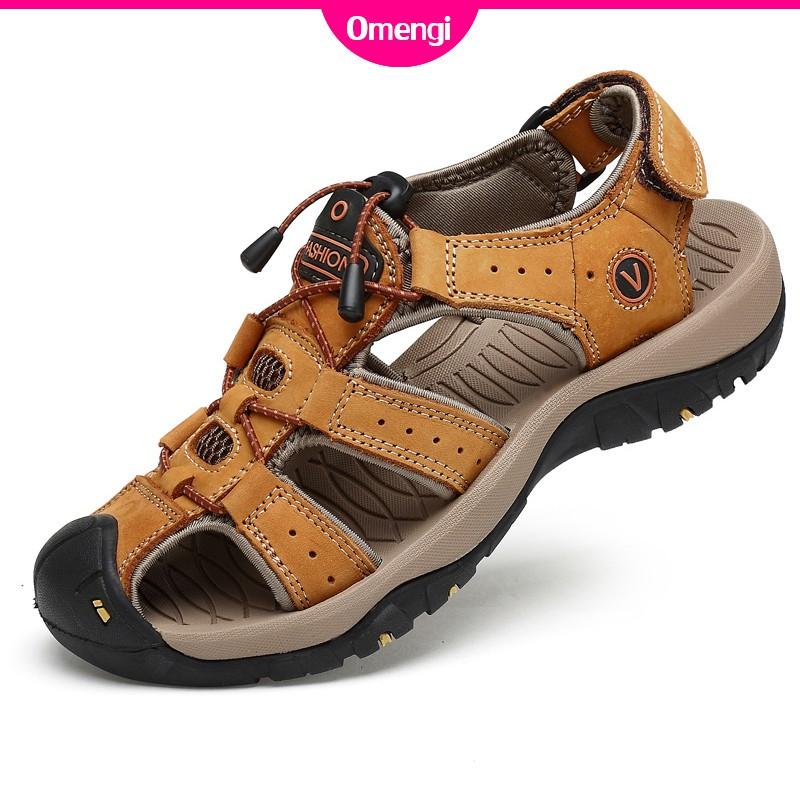 Giày sandal Omengi chống trượt thời trang cho nam size 38-46