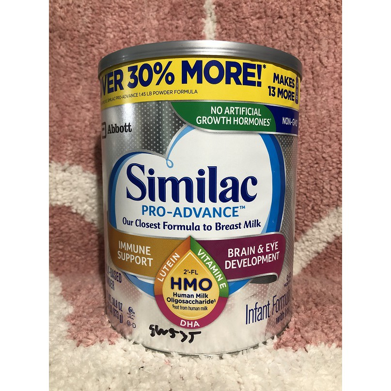 Sữa Similac Pro Advance HMO 873g nhập Mỹ cho bé từ 0-12 tháng tuổi