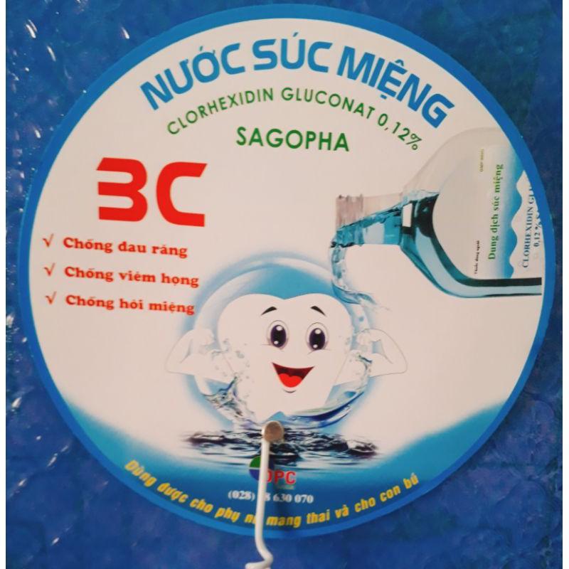 Dung dịch súc miệng Clorhexidin Gluconat 0.12%