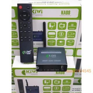 [ Chính Hãng ] Bộ chuyển đổi âm thanh digital sang analog Kiwi KA08 Bluetooth