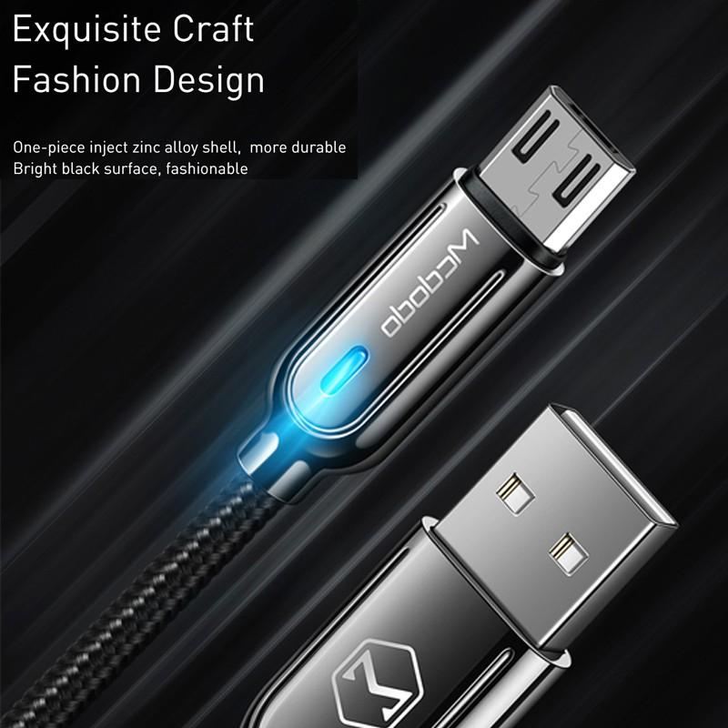 Dây cáp sạc nhanh hỗ trợ cổng Micro USB dành cho thiết bị android