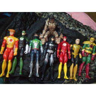 [HIẾM] Combo 8 DC Super Heroes figure chính hãng Mattel