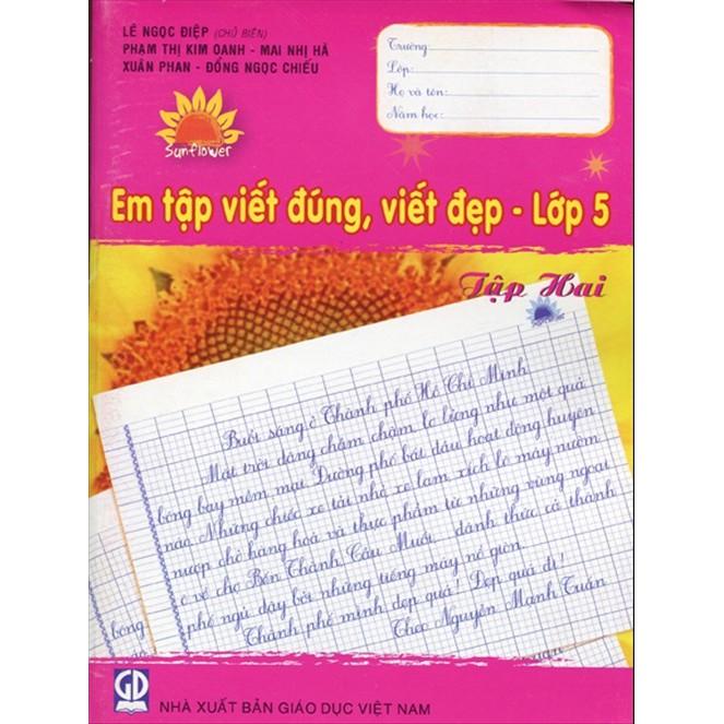 Em Tập Viết Đúng, Viết Đẹp Lớp 5 - Tập 2 - 9968571 , 754922879 , 322_754922879 , 11500 , Em-Tap-Viet-Dung-Viet-Dep-Lop-5-Tap-2-322_754922879 , shopee.vn , Em Tập Viết Đúng, Viết Đẹp Lớp 5 - Tập 2