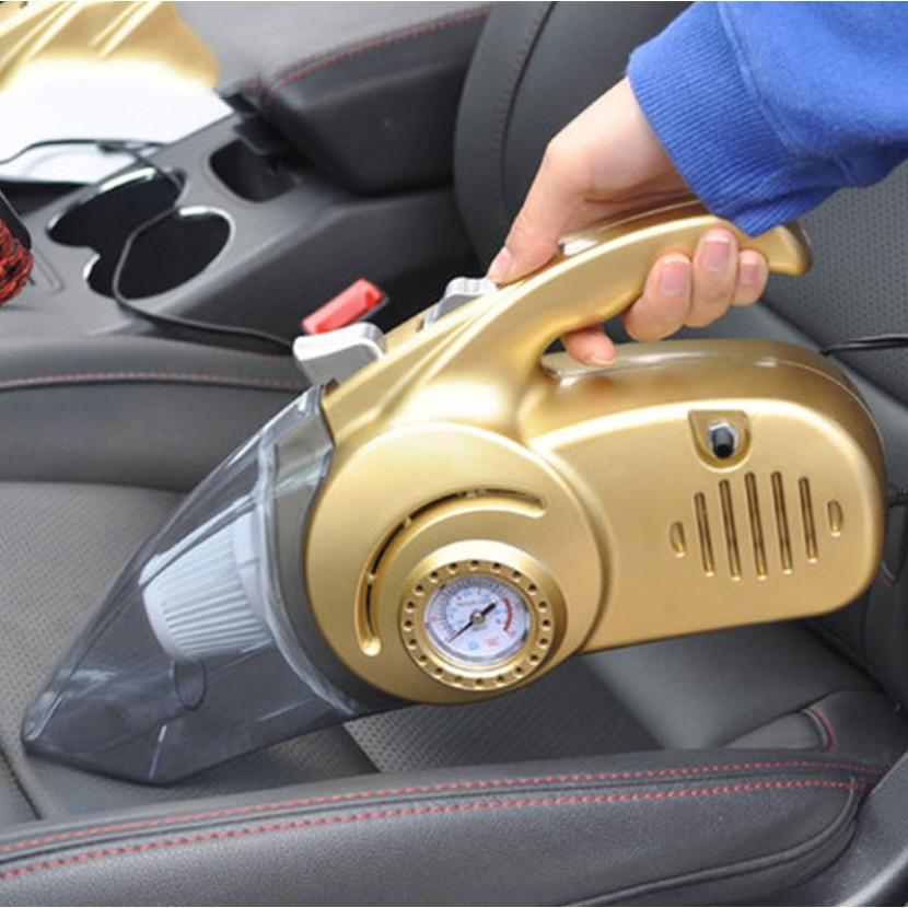 Máy hút bụi cầm tay cho ô tô, xe hơi đa năng 4 trong 1 Hút bụi, kiêm bơm lốp xe, đo áp xuất và đen pin chiếu sáng - 23019340 , 2115608544 , 322_2115608544 , 350000 , May-hut-bui-cam-tay-cho-o-to-xe-hoi-da-nang-4-trong-1-Hut-bui-kiem-bom-lop-xe-do-ap-xuat-va-den-pin-chieu-sang-322_2115608544 , shopee.vn , Máy hút bụi cầm tay cho ô tô, xe hơi đa năng 4 trong 1 Hút b